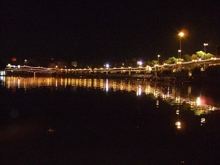 Ping River in Chiang Mai by Night